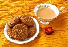 Anzac Biscuits http://www.foodiehalt.com/anzac-biscuits/#anzac #biscuits #eggless #vegan