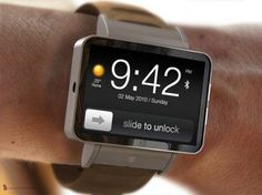 iWatch : Futuristic Watch Design by ADR Studio