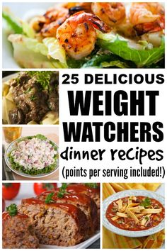 If you're looking for weight watchers dinner recipes with points that are delicious and easy to make, this collection is just what you need!