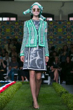 A look from the Thom Browne Spring 2015 RTW collection.