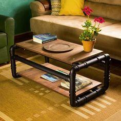 VÍDEO NOVO - Mesa de centro Gentee, para tudo!! Olha essa mesa linda de cano de PVC que acabou de sair lá no canal pra vocês Corre lá e confere o passo a passo completo: https://youtu.be/RYRxIXJp9VY