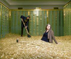 Cool Stuff, Dagobert Duck, Bank Safe, Swiss Bank, Safe Vault, Rich Money, Gold Money, Scrooge Mcduck, Coins For Sale