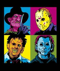 HORROR POP ART