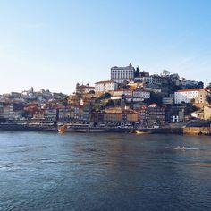 #tbt amazing #Porto  #portugal #spring #city #view #landscape #oporto #ciry #river #douro #douroriver #ponteluis #ribeira #colorful #sun #sky #amazing #beautiful #lovely #weekend #trip #travel #vsco #vscocam #erasmus2016 #erasmus #vscopic #vscodaily by _valerichka