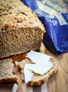 Cheddar and Ale Bread ( no-rise) by Urvashi Roe.