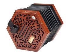 R. Morse & Co. Geordie - English 45 key concertina. WANT