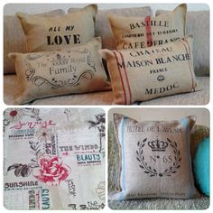 Home Sweet Home citar cojín suelto Cobertor Funda De Almohada Impresas De Regalo