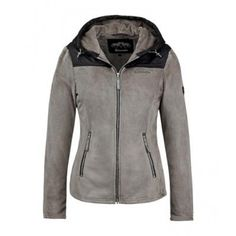 Donja fleece jacket, snuggly and warm and very flattering
