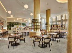 Restaurant, Chair Mimbre, light