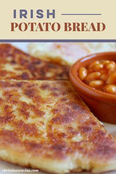 Irish Potato Bread, Irish Potatoes, Sausage Recipes, Bread Recipes, Cooking Recipes, Irish Recipes, Spanish Recipes, Italian Recipes, Potato Cakes
