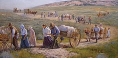 Pioneer Overland Travel Site-Find your Mormon Pioneer ancestors and the handcart or wagon companies they traveled in plus excerpt from journals and information about the companies and pioneers.