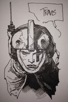 Space Girl by Travis Charest FOR TRADE Comic Art