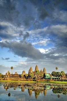 Angkor Wat -- love this mystical place