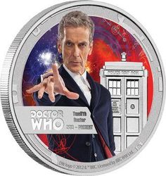 It's finally here! The 12th Doctor Who 1/2 oz Silver coin b NZMint