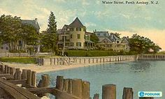 Water Street, Perth Amboy, NJ is where my ancestor, Thomas Gordon, had land before the Revolution. He was a proprietor and a founder of Perth Amboy, NJ.