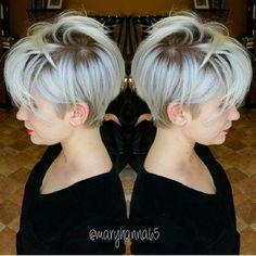 @maryhanna65  @maryhanna65  #blondehair #pixiecut #shorthairdontcare #shortcut #shorthair