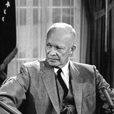 President Dwight D. Eisenhower.