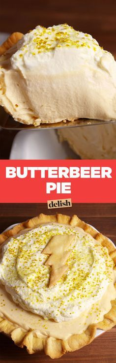Butterbeer Pie Is How Harry Potter Would Celebrate Thanksgiving - http://Delish.com