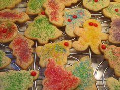 sparkly sugar cookies.