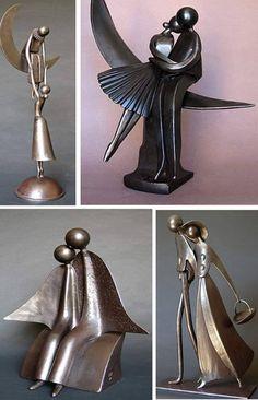 » Blog Archive » Jean Pierre Augier e suas leves esculturas de ferro
