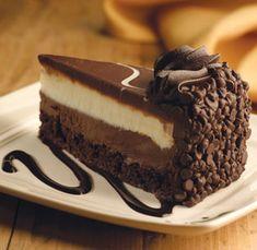 Olive Garden's Black Tie Mousse Cake Recipe