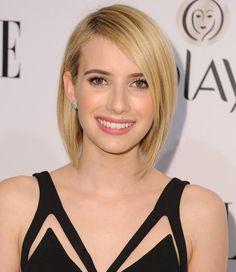 Pin for Later: 30 verschiedene Blond-Töne, die ihr eurem Frisör zeigen solltet Emma Roberts Dank eines kürzeren Haarschnitts konnte Emma auch mit einem helleren Blond-Ton experimentieren, ohne dabei ihre Haare zu ruinieren.