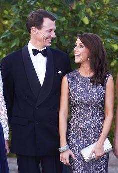 iloveroyalfamiies:  Prince Joachim and Princess Marie, September 11, 2014