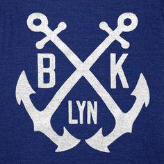 GNOME ENTERPRISES | Handprinted T-shirts for Men + Women + Kids — Brooklyn Anchor Tee