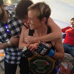 MMA fighter Rebekah Levine - inspiration for Michelle