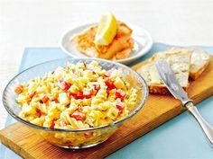 Kasvis-pastasalaatti