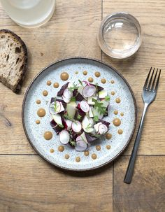 Betterave, radis, pomme verte, anchoïade pour 4 personnes - Recettes Elle à Table