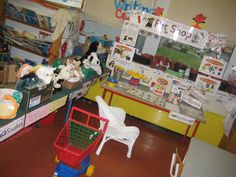 Pet shop role play area.   Flickr - Photo Sharing!