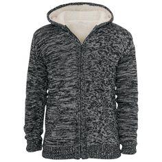 Winter Knit Zip - Vest met capuchon van Urban Classics - Artikelnummer: 239996 - vanaf 59,99 € • Large