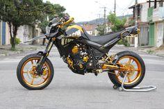 Yamaha XT660R Supermotord Gold Edition