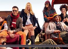 Tommy Hilfiger Royal Tenenbaum-Inspired Ad Campaign - Pursuitist