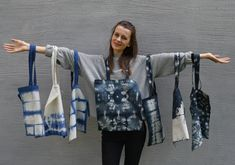 Hi, my name is Anett. I have a small shop in etsy, filled up with a lot of handmade bags!  Support my small business with purchasing a nice handmade bag! White Tea Mugs, Mountain Designs, Unique Christmas Gifts, Bag Design, Tie Dyed, Handmade Bags, Shibori, Different Styles, Nice
