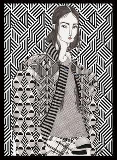 #Isabella - Jeremy Combot Illustration