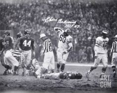 Art.com Blog: Five of the Most Iconic Examples of Sports Photography. Chuck Bednarik Philadelphia Eagles, Autographed. Hand-Signed Collectible Photograph from Art.com, $209.99