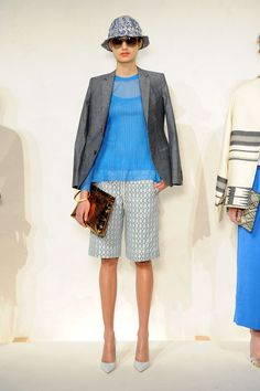 A Bucket hat at the J.Crew Spring 2015 NYFW Presentation: (http://racked.com/archives/2014/09/09/jcrew-womens-nyfw-spring-2015.php)