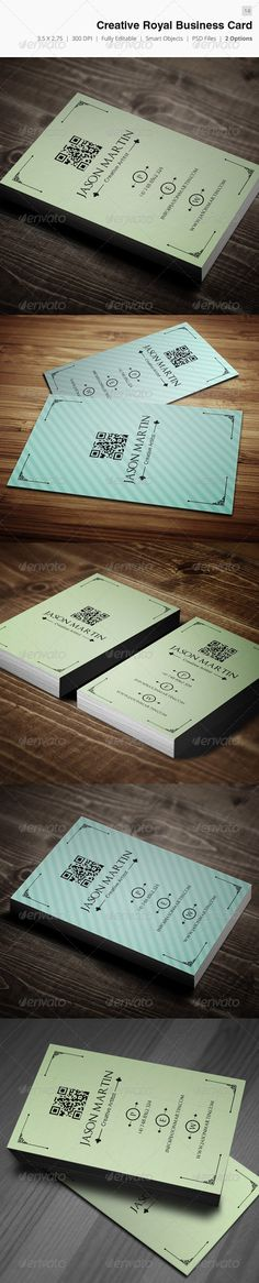 Creative Royal Business Card - 14