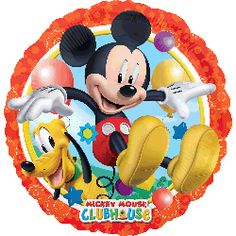 Mickey & Pluto 17inch £3.49