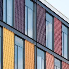 Conheça as vantagens das fachadas ventiladas,via Hunter Douglas Brasil®