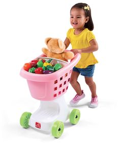 Look at this #zulilyfind! Little Helpers Shopping Cart by Step2 #zulilyfinds