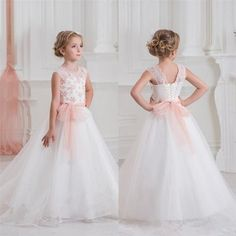 NEW Communion Party Prom Princess Pageant Bridesmaid Wedding Flower Girl Dress 118