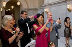 I know everyone wants to have their own photo with the couple, but when you multiply the time it takes by 150 guests, it can quickly eat up your whole wedding day.But I also know that the idea of h...