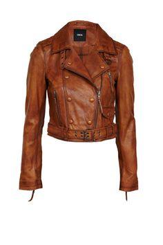ASOS leather biker jacket $174.60