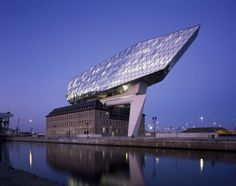 Port House Antwerp by Zaha Hadid Architects
