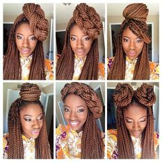 Give your natural hair a month break with box braids. Box braids are the number one protective style that will not only protect your natural hair, but also extend it. After the installation, you'll be able to wear versatile hairstyles. This protective style can last up to 3 months. You can make your braids look …