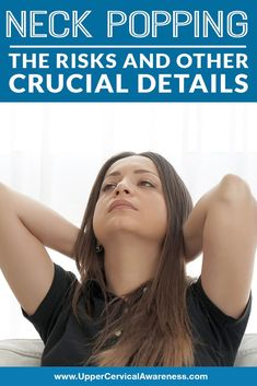 Most would start to twist or tilt their heads to the side and begin making neck popping or cracking sounds. And so, you may begin to wonder why the neck makes those cracking sounds. More importantly, is it something dangerous? Should you be concerned? Let's find out. #NeckPainRelief #NeckAcheRelief #NaturalRelief Neck Pain Relief, Let It Be, Pop, Detail, Popular, Pop Music