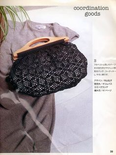 Crochetemoda: Crochet - Bolsa; with chart